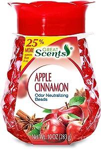 Great Scents Pearl Air Freshener & Odor Neutralizing Beads - Apple & Cinnamon 10 oz.