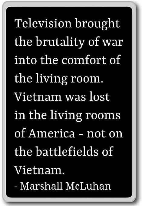 Televisión a la brutalidad de Guerra en... - Marshall McLuhan ...