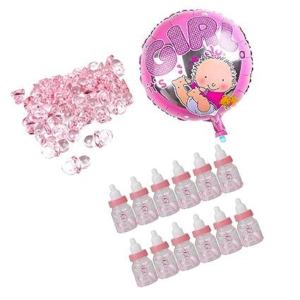 sharplace princesa niña 12 piezas cajas de Candy biberón Baby Shower ...