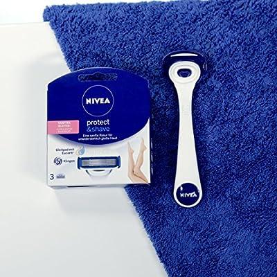 Nivea Protect y Shave oscilante articulación de afeitar con 2 ...