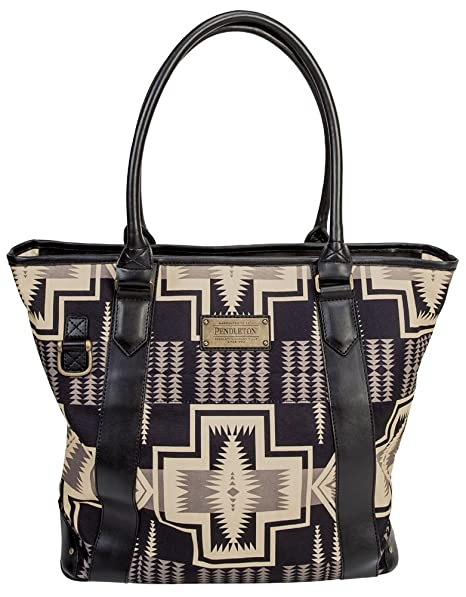 Veenajo Stripe Beach Tote Shoulder Bag withTop Zipper Closure-L17.6xH14.1xW5.5