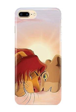 Carcasa para iPhone 7+ [Plus] Lion King Simba Mufasa Scar ...
