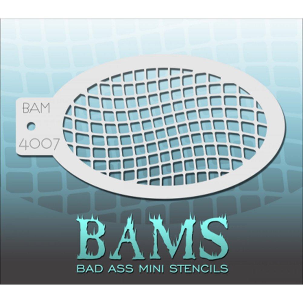 Bad Ass Net Mini Schablone bam4007
