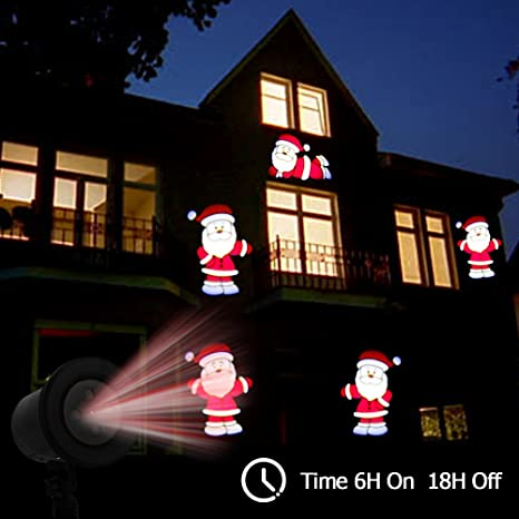 Fine Kshioe Led Automatic Conversion Santa Claus Led Christmas Decoration Outdoor Landscape Lawn Lamp Us Attractive Fashion Access Control Kits