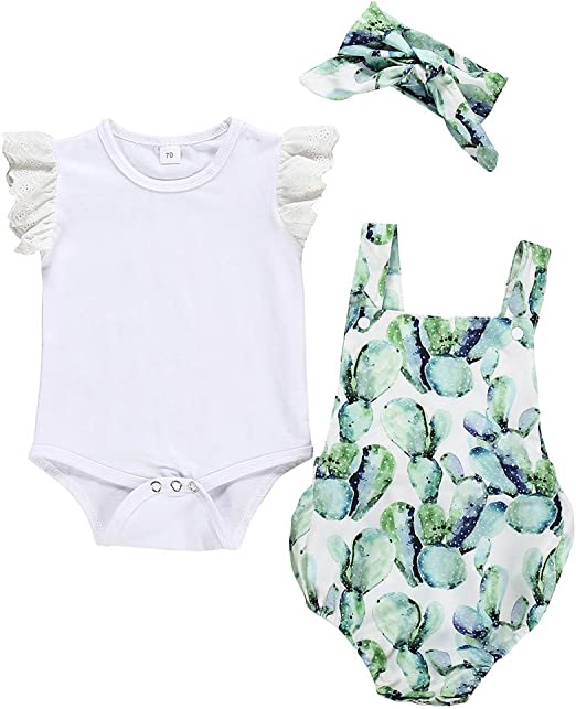 Julhold - Pelele de algodón suelto sin mangas para bebé + tirantes ...