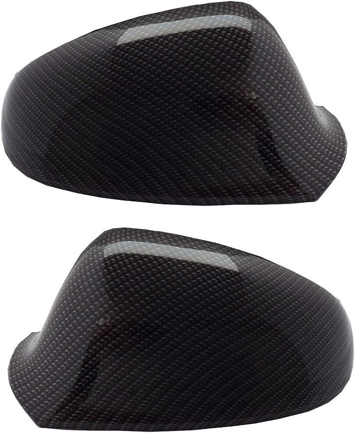 1 Paar Spiegelkappen Astra J Mit Wassertransferdruck Carbon Look Spiegel Außenspiegel Auto