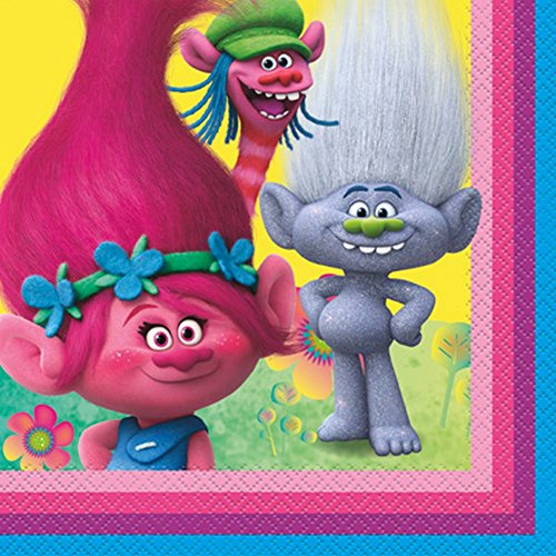 Trolls Lunch Napkins