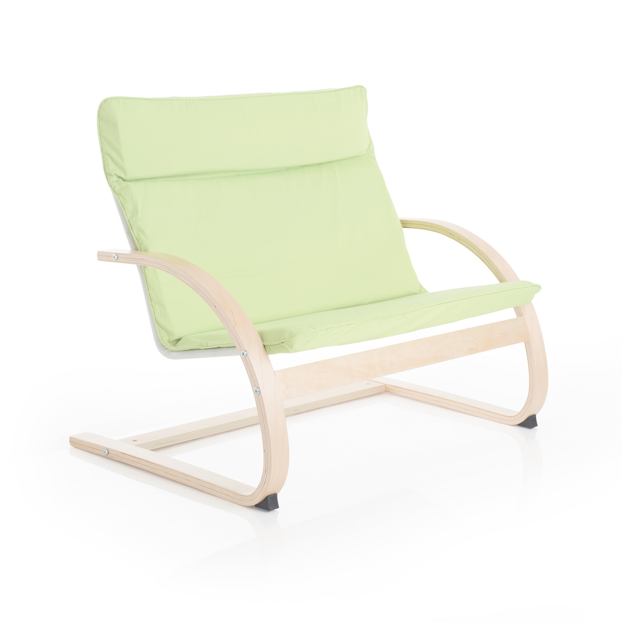 Guidecraft Nordic Couch - Light Green: Rocker Couch For Toddlers, Kids Room & Classroom Furniture, School Chair
