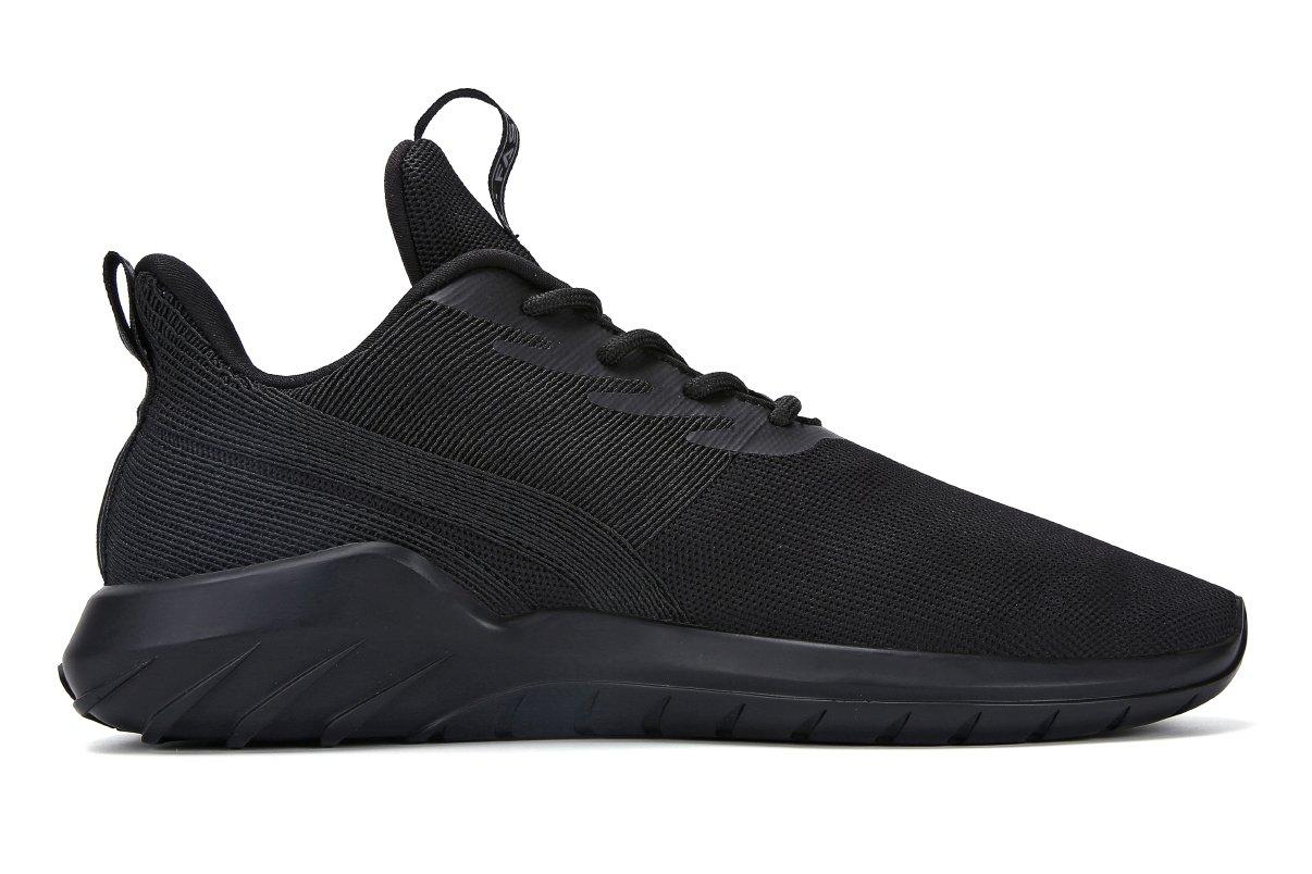 Soulsfeng Zapatos Deportivos Zapatillas Zapatos de Hombres para Mujer Calzado Deportivo Zapatos Planos Zapatos Con Cordones(negro 46EU) z3jWxTMb