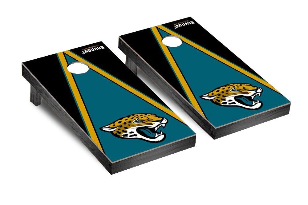 NFL Jacksonville Jaguars Triangle Version Football Corn hole Game Set, One Size