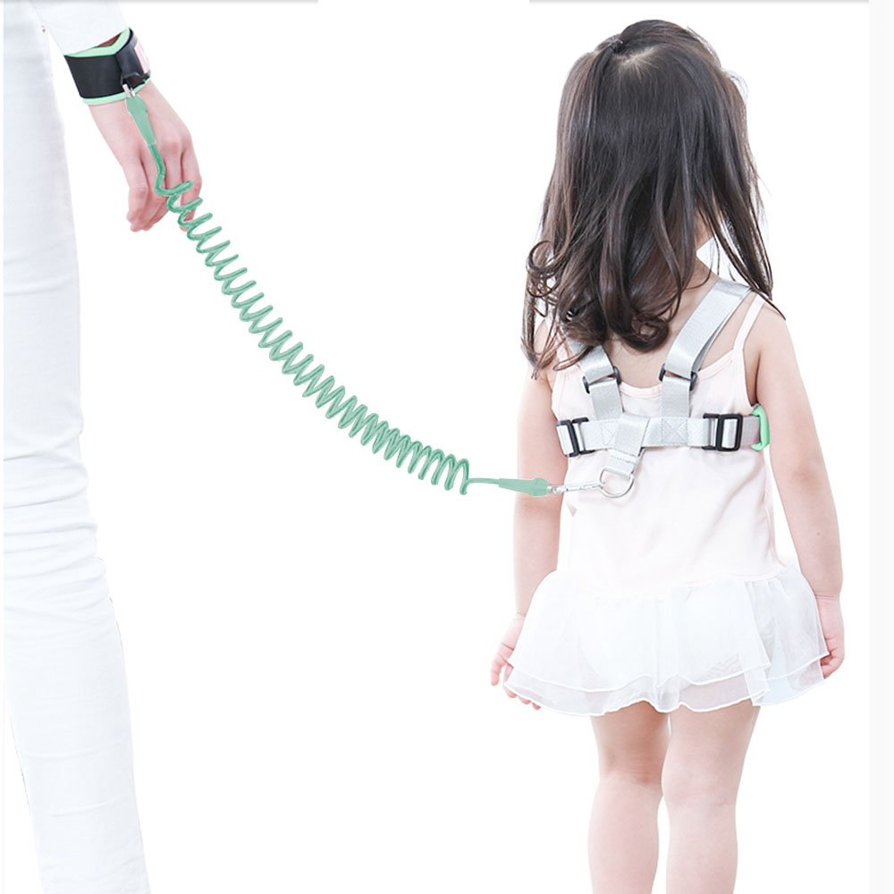 Anti Lost Wrist Link for Toddler OFUN Toddler Walking Harness Leash 2 in 1 Upgraded Baby Safety Harness for Walking, Safety Leashes 2.5M