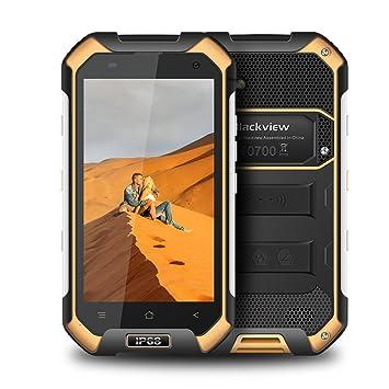 Móviles y Smartphones Libre Blackview BV6000 Smartphone Dual Sim Android 7.0 4G Móvil Ip68 Octa-Core 3GB RAM + 32GB ROM - 4500mAh Grande Batería - 5MP ...