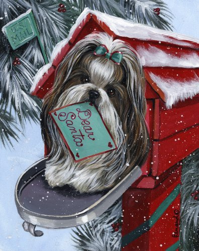 Shih Tzu Santa List-GC