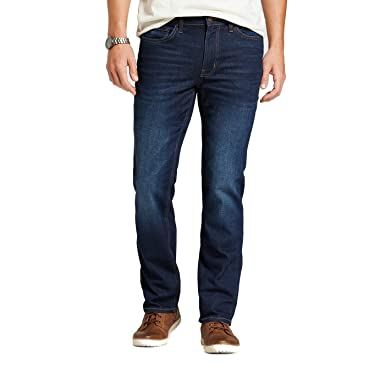 babd71c1e1b Goodfellow   Co Men s Straight Fit Jeans Dark Wash at Amazon Men s ...