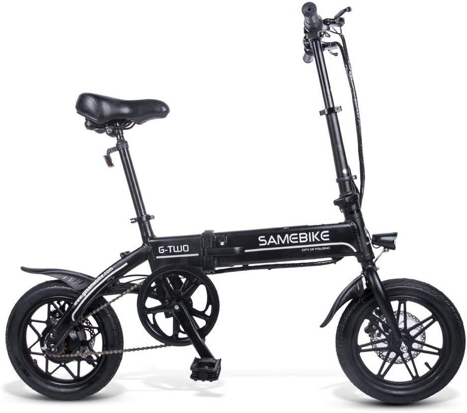 SAMEBIKE 14 inch 250W Folding Electric Bike
