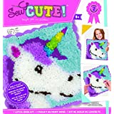ColorBok Sew Cute Latch Hook Kit Unicorn