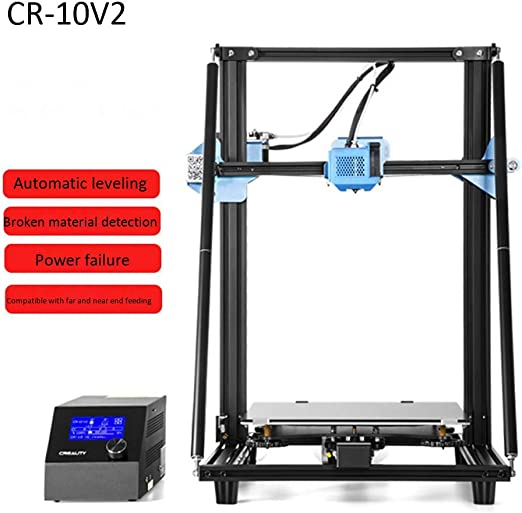 Impresora 3D CR-10V2, Impresora 3D ultra silenciosa de alta ...