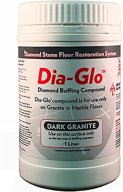 Dia-Glo Dark Granite Complete Repolishing /& Sealing Kit