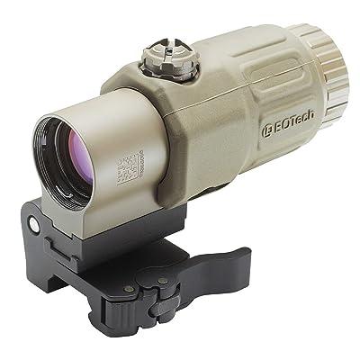 EoTech G33.STSTAN Side Mount Red Dot Sight Magnifier, Tan Matte Finish
