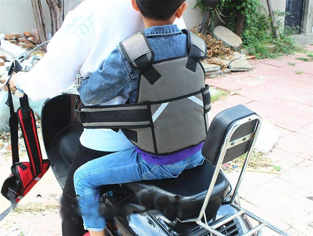 color : Gray Cintur/ón De Seguridad Del Cintur/ón De Seguridad Arneses Para Beb/és Estilo Resistencia A La Ca/ída