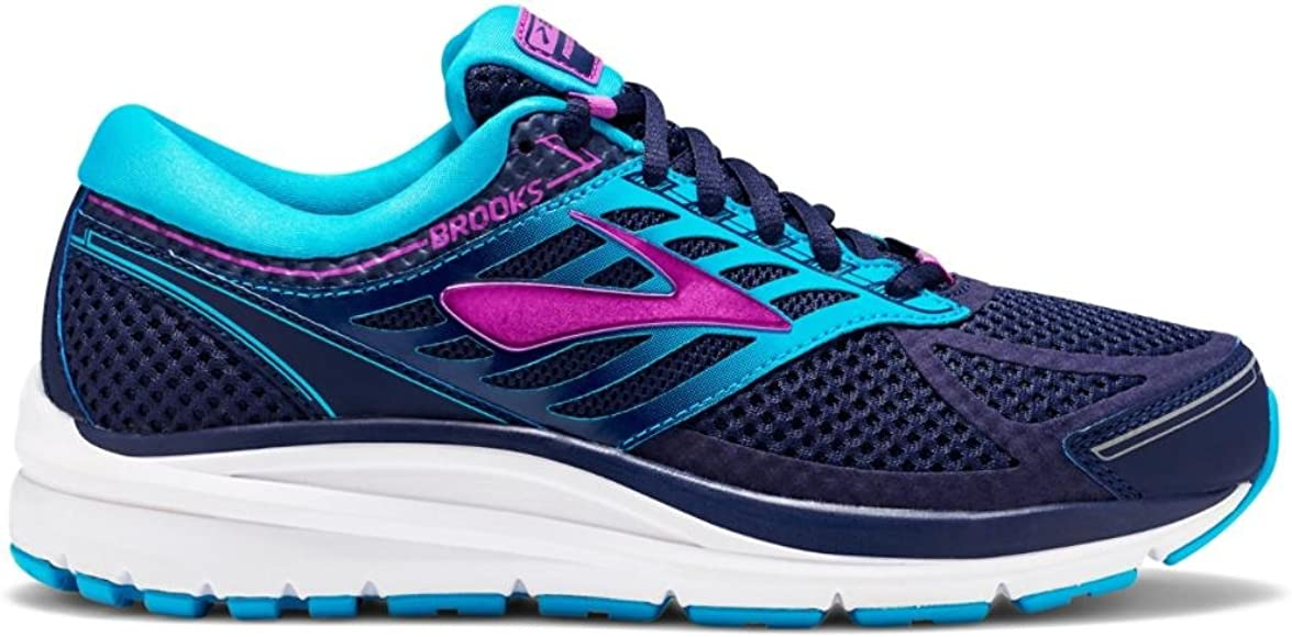 Brooks Womens Addiction 13 Evening Blue/Teal Victory/Purple Cactus Flower 5 AA US: Amazon.es: Zapatos y complementos