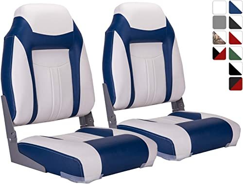 High Back Folding Boat Seat (2 pcs.) [North Captain] Picture