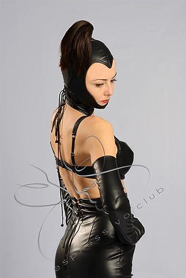 Dominatrix leather mistress