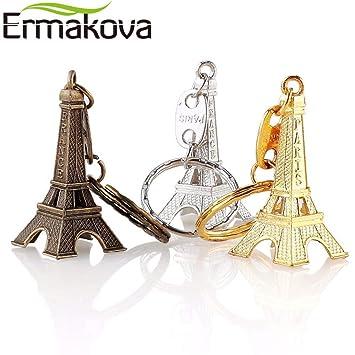 Amazon.com: ZAMTAC - Llavero de 3 piezas, diseño de torre ...