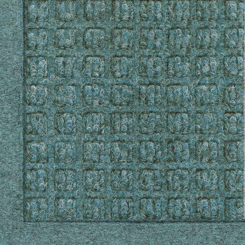 Andersen 280 WaterHog Fashion Polypropylene Fiber Entrance Indoor/Outdoor Floor Mat, SBR Rubber Backing, 3' Length x 2' Width, 3/8