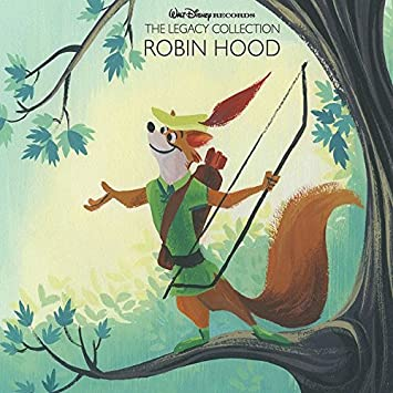 Various Artists Walt Disney Records The Legacy Collection Robin