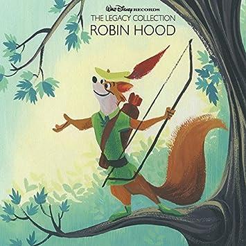 Walt Disney Records The Legacy Collection Robin Hood  Cd
