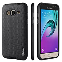 Vakoo Galaxy J3 Case, Armor Defender Rugged Impact Shockproof Heavy Duty Dual Layer Drop Protective Case Cover for Samsung Galaxy J3 (Black)