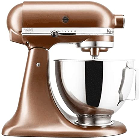 KitchenAid Classic 4.5 Quart, 10 Speed, Tilt Head Stand Mixer - Copper Pearl