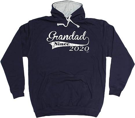 Funny Grandad Hoodie If Mum Says No Hoody Grandpa Hooded Sweat Sizes S-XXL