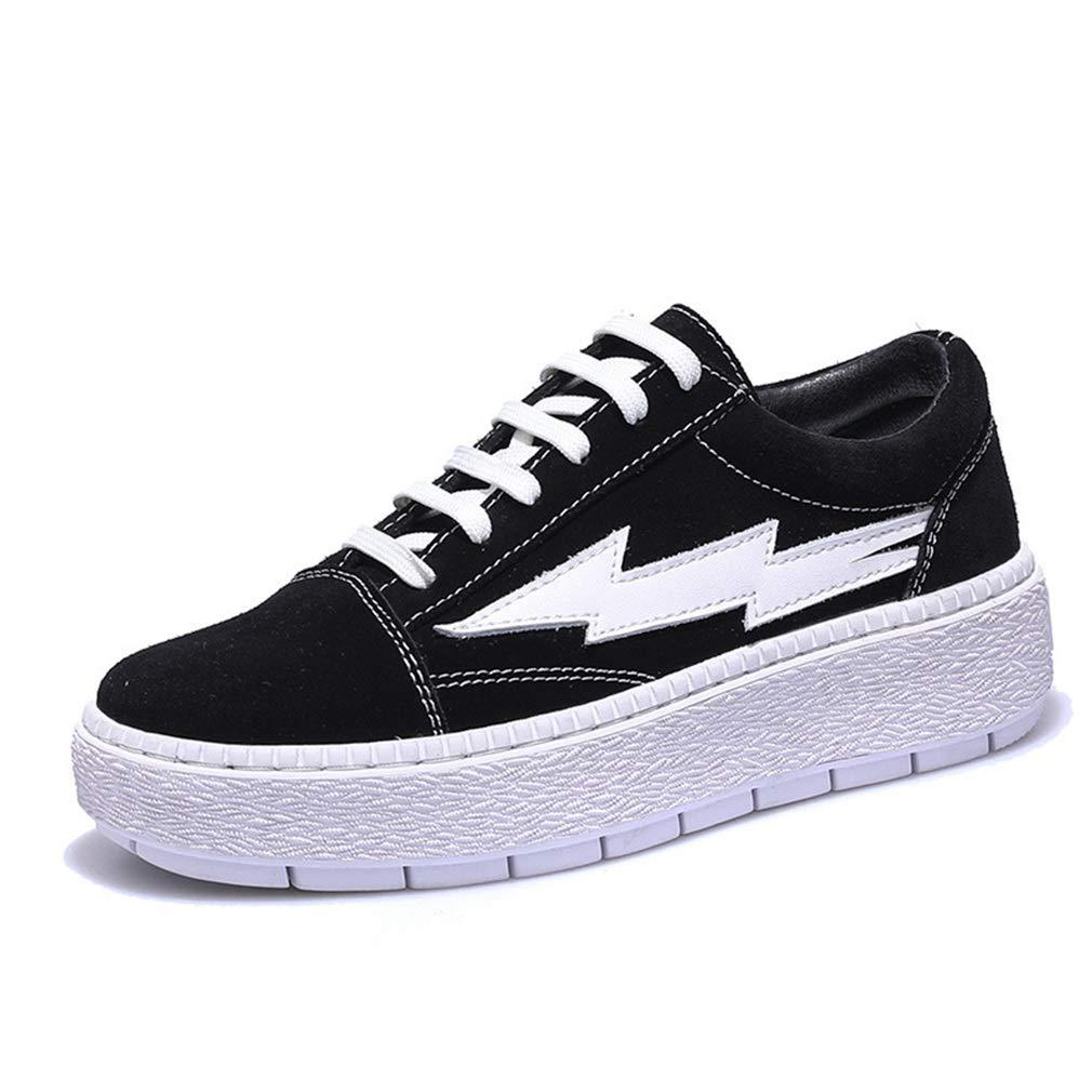 YAN Damen Freizeitschuhe Spring & Fall Academy Deck Schuhe Plateauschuhe Flache Sportschuhe Fitness & Cross Training Schuhe
