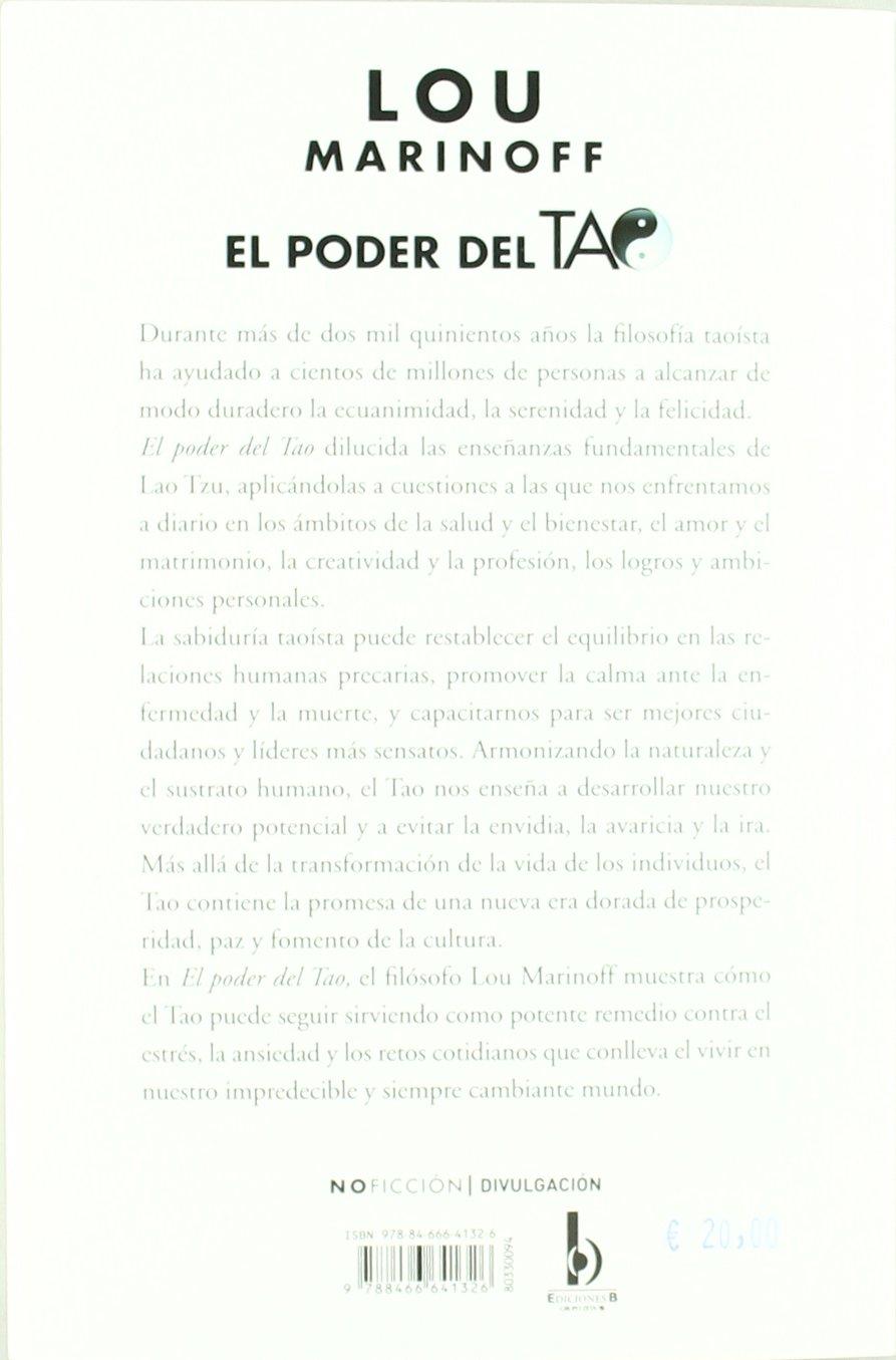 El Poder Del Tao Spanish Edition No Ficcion Divulgacion