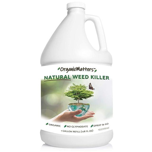 OrganicMatters Natural Weed Killer Spray