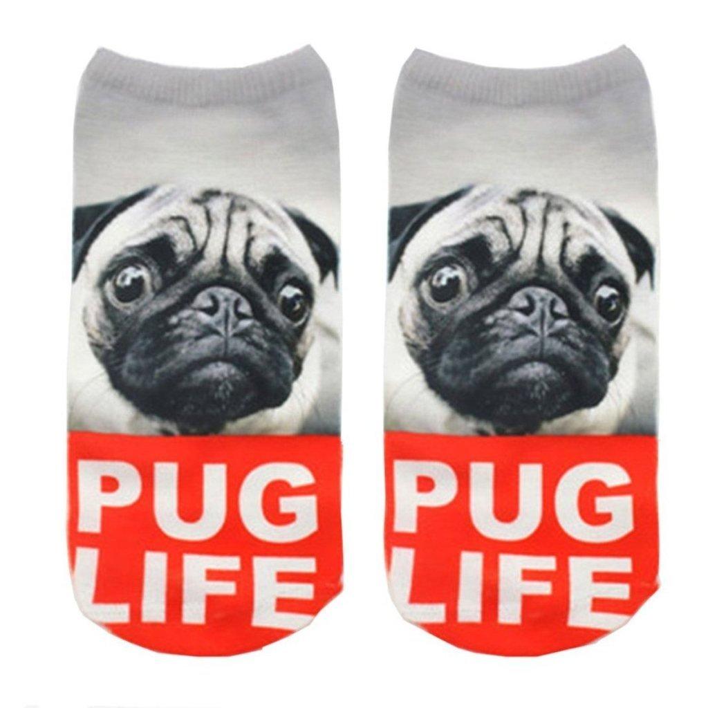 Funny Sock Bug Dog Cartoon Animal Print For Woman Man Boy Girl Chic Fashion