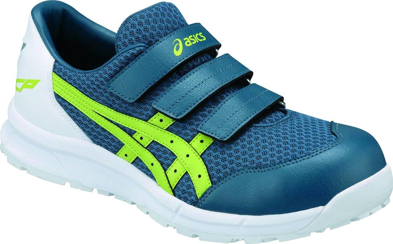 [アシックス]安全靴作業靴FCP202 B07B49Q7XG インクブルー×ライム 23.0 cm