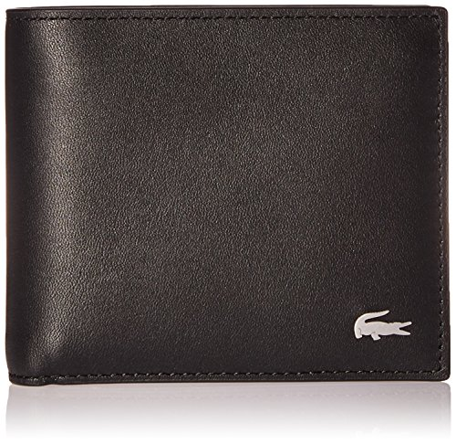 Lacoste Men's M Billfold Coin Key Ring, black, One Size