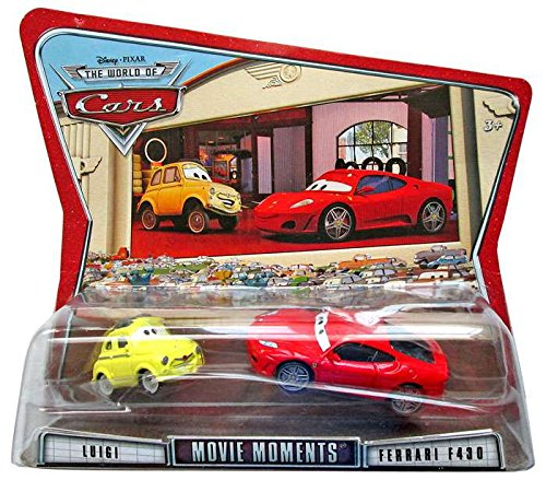 Diecast F430 Ferrari (Cars Movie Moments Luigi & Ferrari F430)