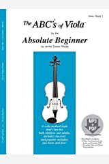 The ABCs of Viola for the Absolute Beginner, Book 1 (Book & MP3/PDF) Sheet music
