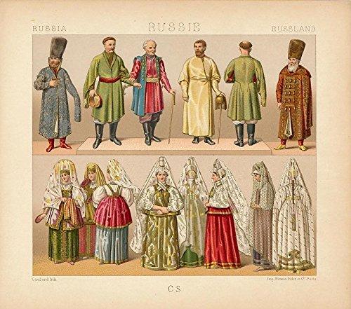 1880 costume dress - 6