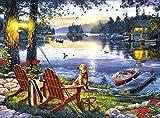 Buffalo Games - Darrell Bush - Twillight's Calm - 1000 Piece Jigsaw Puzzle