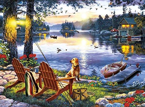 - Buffalo Games - Darrell Bush - Twillight's Calm - 1000 Piece Jigsaw Puzzle