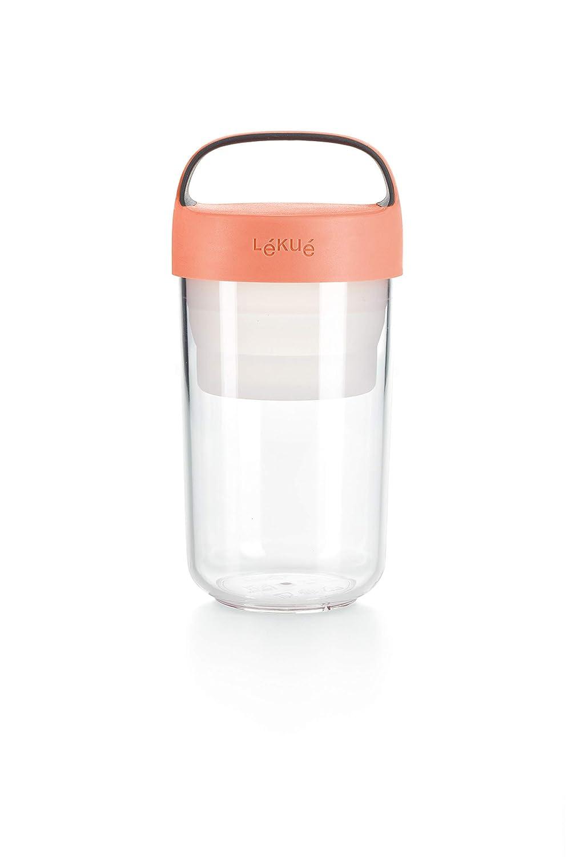 Coral 400 ml Recipiente herm/ético para transportar alimentos L/éku/é