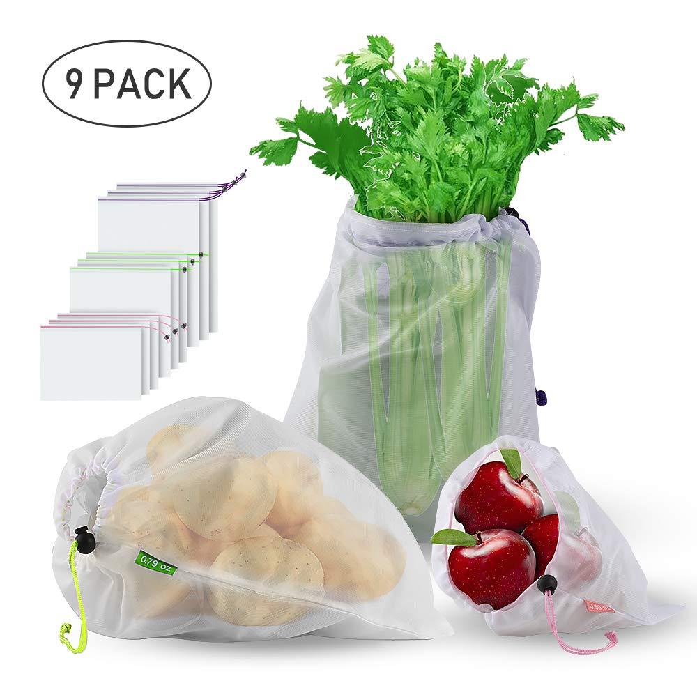 Sacolas reutilizáveis para frutas