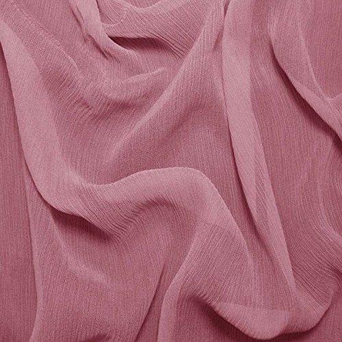 Silk Crinkle Chiffon Fabric - 8