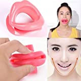 GENERIC New Design Silicone Rubber Face Slimmer Exerciser Mouth Muscle Tightener Anti Aging Anti Wrinkle Chin Massager Thin Jaw
