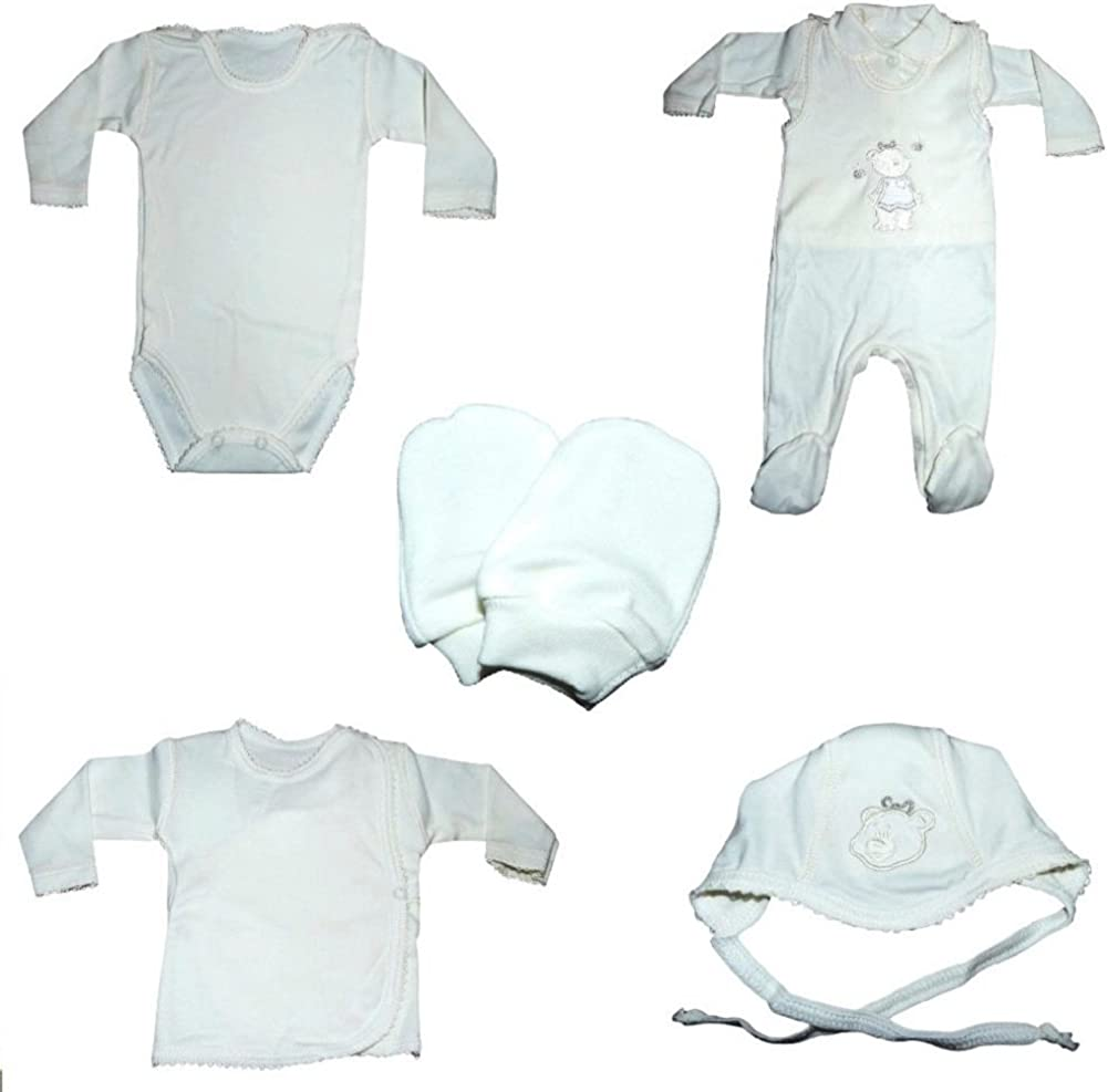 Neu 3tlg Babyset Blau Geschenkset Newborn Erstausstattung 68 Jungen Prince